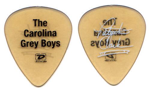 Darius Rucker Tour Guitar Pick - The Carolina Grey Boys Patrick yellow signature