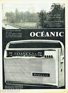 PUBLICITE-ADVERTISING-066-1961-transistor-Tropic-Oceanic
