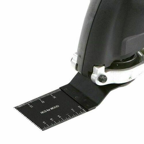 20Pcs 34mm Oscillating Multi Tool High Carbon Steel Cutter DIY Saw Blades Tools
