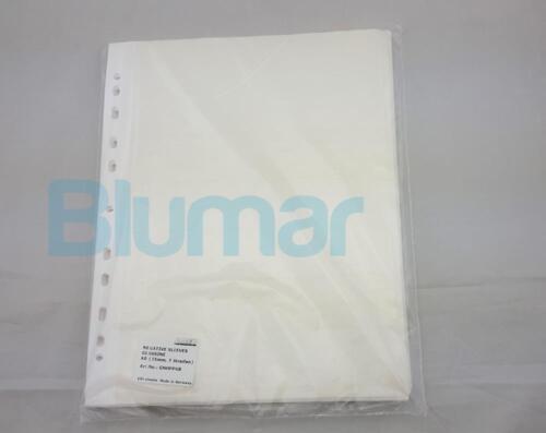 100 sheet 35mm film Glassine negative sleeves 7 stripes 6 frame storage archival