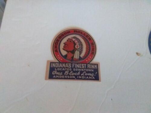 Vintage roller Skates /& roller rinks around the world vinyl decal stickers