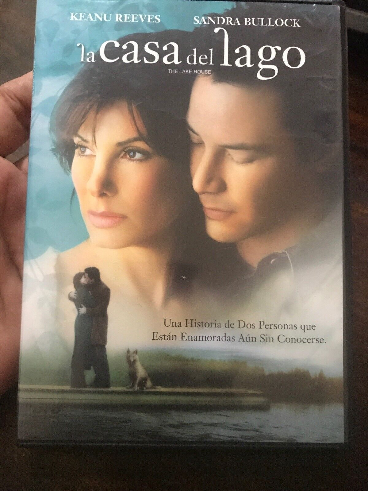 The House Of Sin Dvd la casa del lago (the lake house), keanu reeves, spanish dvd, exc condition  (a5)