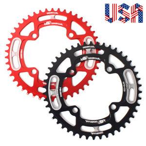 Narrow Wide Chainring MTB Bike Single Round 44-52T 104BCD Chainwheel Crankset