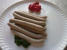 (12,49€/kg) 10 Wildschwein Bratwurst / Rostbratwurst ohne Zusatzstoffe, Wild