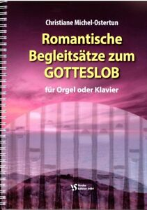 Kirchenorgel-Noten-Romantische-Begleitsaetze-zum-GOTTESLOB-leichte-Mittelst