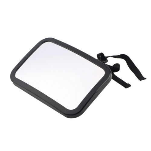 LARGE ADJUSTABLE VIEW REAR//BABY//CHILD SEAT CAR SAFETY MIRROR HEADREST MOUNT  QP