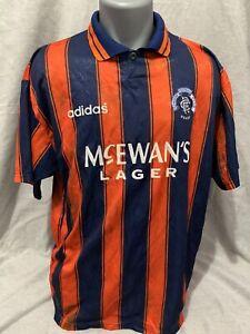 Rangers Away Shirt 1993/94 42/44 Chest Original Rare And Vintage