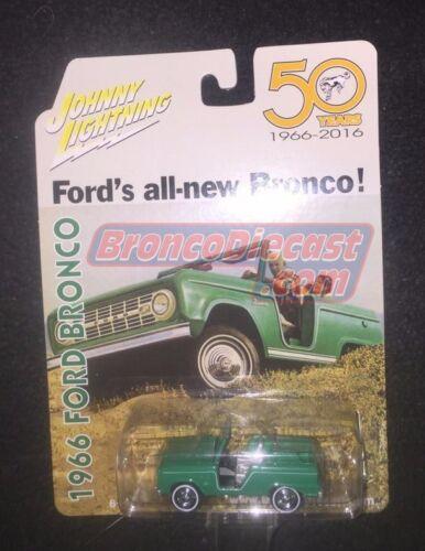 Johnny Lightning Diecast Bronco 50th Anniversary limited edition!