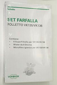 SET-FARFALLA-SACCHETTI-FOLLETTO-ORIGINALI-VK-135-VK135-VK136-VK-136-05033-44103
