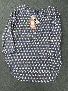 Ladies-Gap-Patterned-Blouse-Size-S-Bnwt-Ga-83469