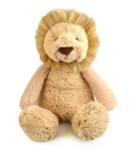 FRANKIE-amp-FRIENDS-LION-PLUSH-SOFT-TOY-28CM-STUFFED-ANIMAL-BY-KORIMCO-BNWT