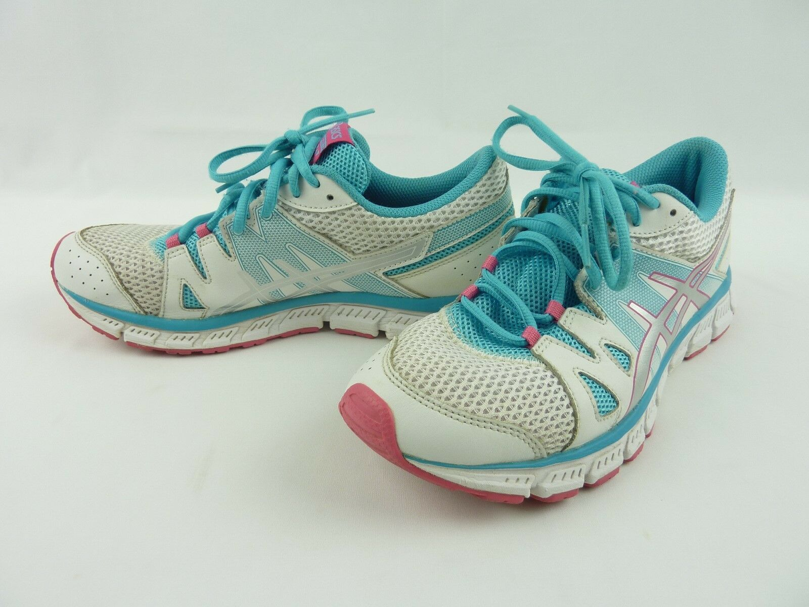 Womens 8.5 ASICS Gel Unifire TR Shoes F461113 White Blue & Pink F461113 Shoes 30dbf0