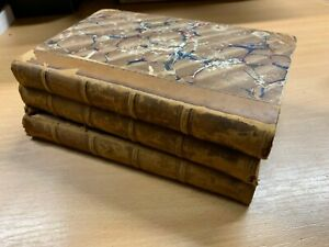 1819-034-The-Adventures-Of-Gil-Blas-034-T-Shirt-Smollett-Vols-1-3-Antique-Cuir