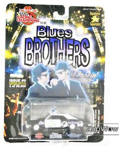 BLUES-BROTHERS-1998-Ltd-Ed-Signatures-Superstars-Car-Racing-Champions-1990s