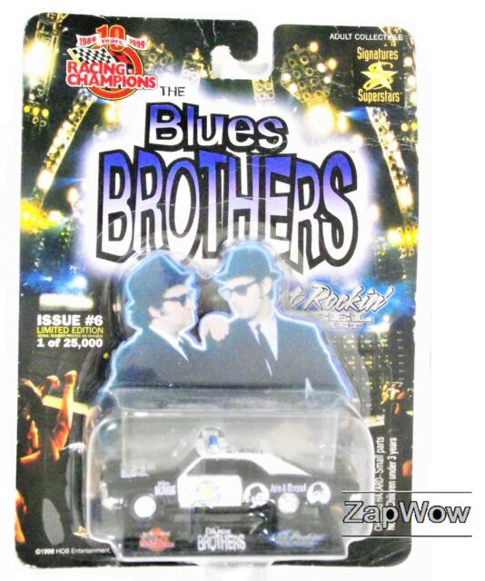 BLUES BROTHERS 1998 Police Car Chevrolet Ltd Ed Signatures Superstars VTG 1990s