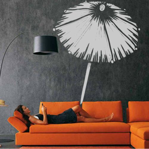 Objet Sticker Mural Parasol