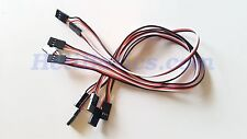 5pcs Male To Male 30cm Servo Extension Lead 3-pin Cable Cord for RC