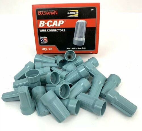 Buchanan  B-CAP B4-1 WIre Connectors 25 Pack