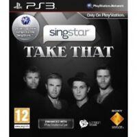 SingStar Take That Solus Game PS3 Brand New