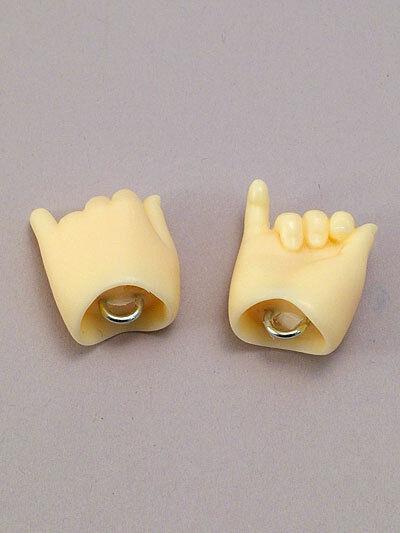 Semi-white Skin for Hatsune Miku Volks DD3-H-04B-MK Outspread Hands Large Ver
