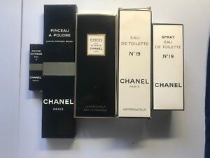 Chanel-Boxes-Vintage-Perfume-Empty-early-1980s