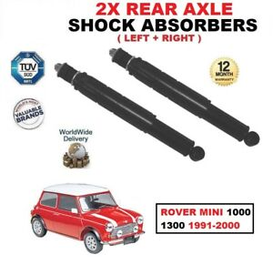 REAR-LEFT-RIGHT-SHOCK-ABSORBERS-SET-for-ROVER-MINI-1000-1300-1991-2000