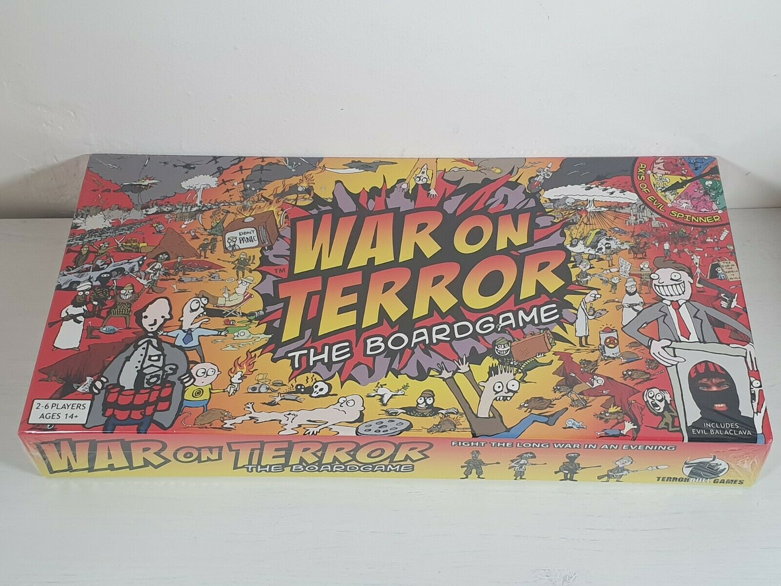 War on Terror  The Boardgame -- New & Sealed -- Terrorbull Games 2006 --