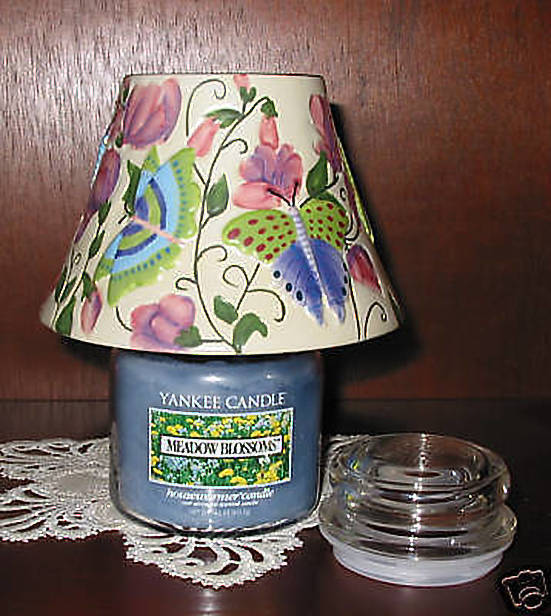 Yankee Candle 2 pc Set Butterfly Garden Meadow Blossom