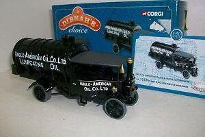 01:50 Corgi Cc20203 - Camion citerne à vapeur Foden, Anglo American Oil Co.ltd, Numerado