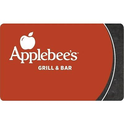 $10 / $25 / $50 Applebee's Gift Card - Mail Delivery