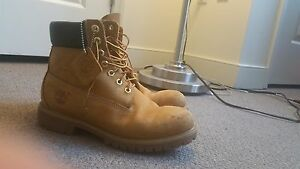 Details about Used Mens Timberlands Size 8