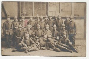 3-522-AK-OFFENBACH-SOLDATEN-PICKELHAUBEN-JAHR-1918