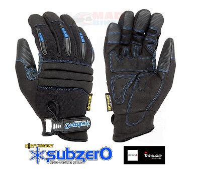 DIRTY RIGGER SUBZERO WORK WEAR GLOVES, IDEAL FOR SOUND, LIGHT, VISUAL RIGGING