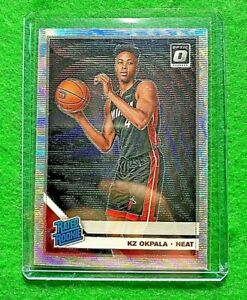 KZ-OKPALA-RATED-ROOKIE-PRIZM-CARD-MIAMI-HEAT-2019-20-DONRUSS-OPTIC-BASKETBALL