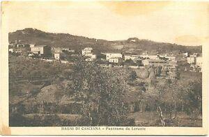 BAGNI DI CASCIANA - PANORAMA DA LEVANTE (PISA) 1930 | eBay