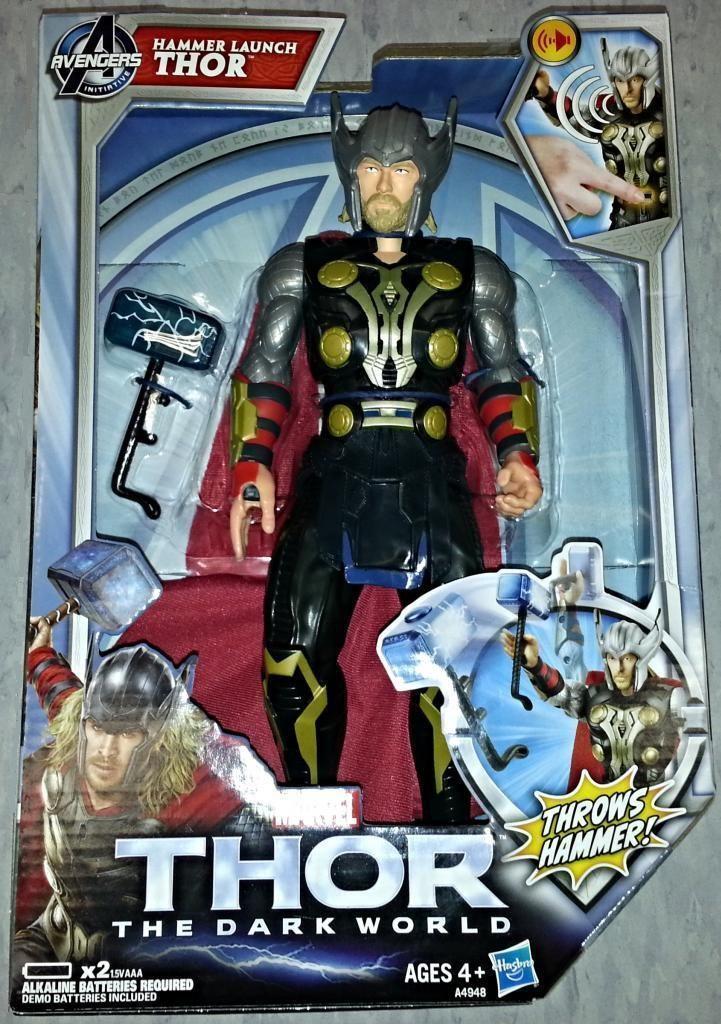 Elektronische thor  die dunkle welt (((roten) marvel avengers action - figur