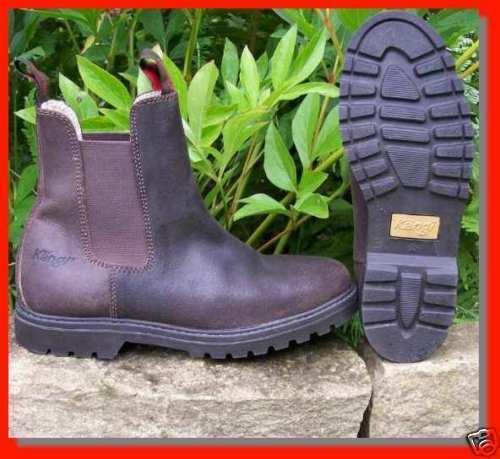 Grandes zapatos con descuento braun Kängi Australien Reitstiefel Leder Stiefel Boots Stiefellette