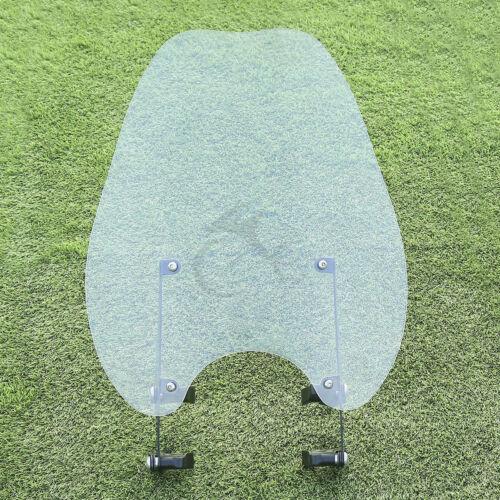 Clear Windscreen Wind Shield Fit For Harley Sportster XL883 86-10 XL1200 88-11