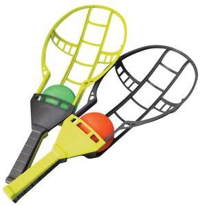 Trackball Sport Trac Ball Lacrosse Racket Game Backyard Toy Sport Outdoor