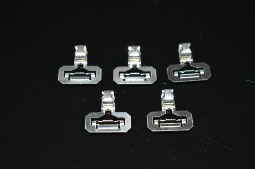 +++ 5 Stück Fleischmann 6431 Fleischmann Anschlußklemme für Profi Gleis