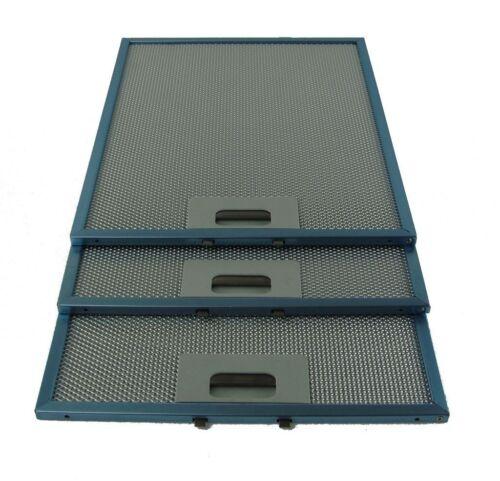 Cuisinière Hotte Hotte aspirante Ventilation Filtre à graisse 3 X Lamona 320 X 260 mm metal pour Four