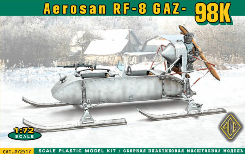 Neu ACE 72517-1:72 Aerosan RF-8 GAZ-98K