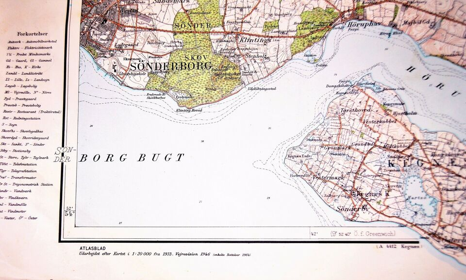 Geodaetisk Kort Dba Dk Kob Og Salg Af Nyt Og Brugt