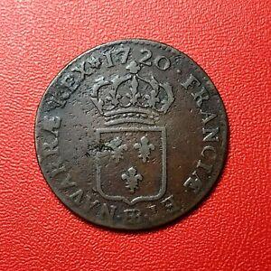 1499-RARE-Louis-XV-Demi-sol-au-buste-enfantin-1720-BB-Strasbourg-FACTURE