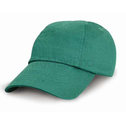 Result Headwear Junior Low-Profile Cotton Cap