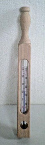 Holz Holzthermometer Celsius 25 cm Nostalgie Badethermometer Fahrenheit