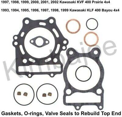 Top End Gasket Set For 1999 Kawasaki KLF300 Bayou 4x4 ATV~Winderosa 810805
