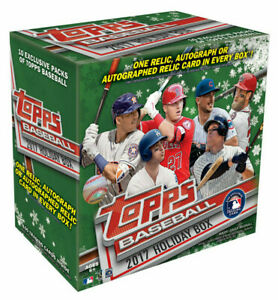 2017-Topps-Holiday-Baseball-Singles-Pick-Card-Build-Set-lot-Stars-RC-Snowflakes