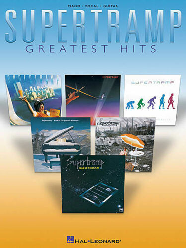 SUPERTRAMP GREATEST HITS PIANO VOCAL GUITAR SONG BOOK