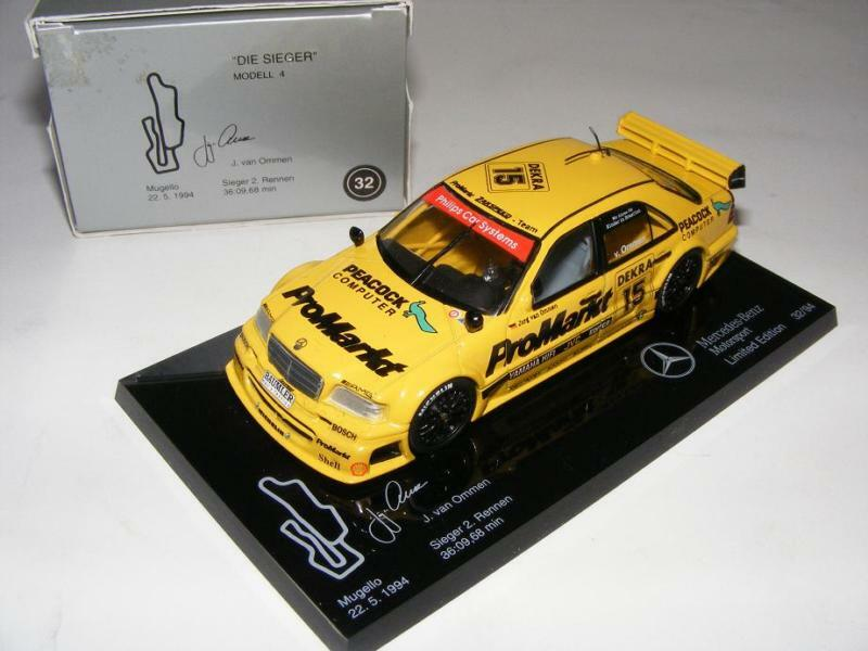 1 43 Minichamps AMG Mercedes C DTM 94  Die Sieger   4